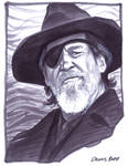 convention sketch 18 Rooster Cogburn