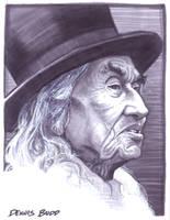 convention sketch 19 Chief Dan George by DennisBudd