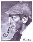 convention sketch 21 Sherlock Holmes