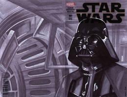 sketchcover 02 Darth Vader by DennisBudd