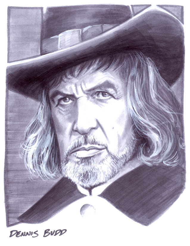convention sketch 26 Witchfinder General by DennisBudd