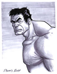 convention sketch 29 Hulk by DennisBudd