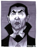 convention sketch 33 Dracula by DennisBudd