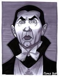 convention sketch 33 Dracula by DennisBudd