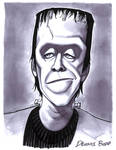 convention sketch 35 Herman Munster