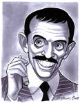 convention sketch 37 Gomez Addams