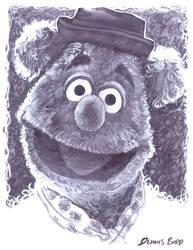 marker Fozzie Bear by DennisBudd