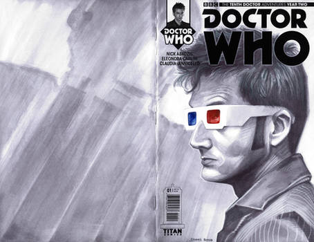 sketchcover 12 Doctor Who