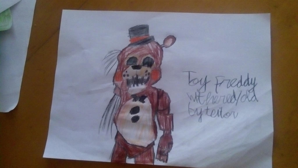 Draw Withered Freddy – Wonderful Image Gallery