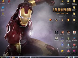 IronMan 2008 Desktop by Neko-zuki