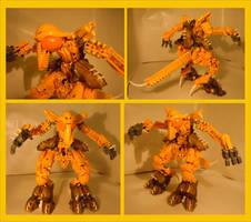 Bionicle MOC - Ground Star by Alex-Darkrai