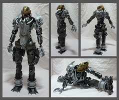Bionicle MOC - Kuikari 1.3 - details by Alex-Darkrai