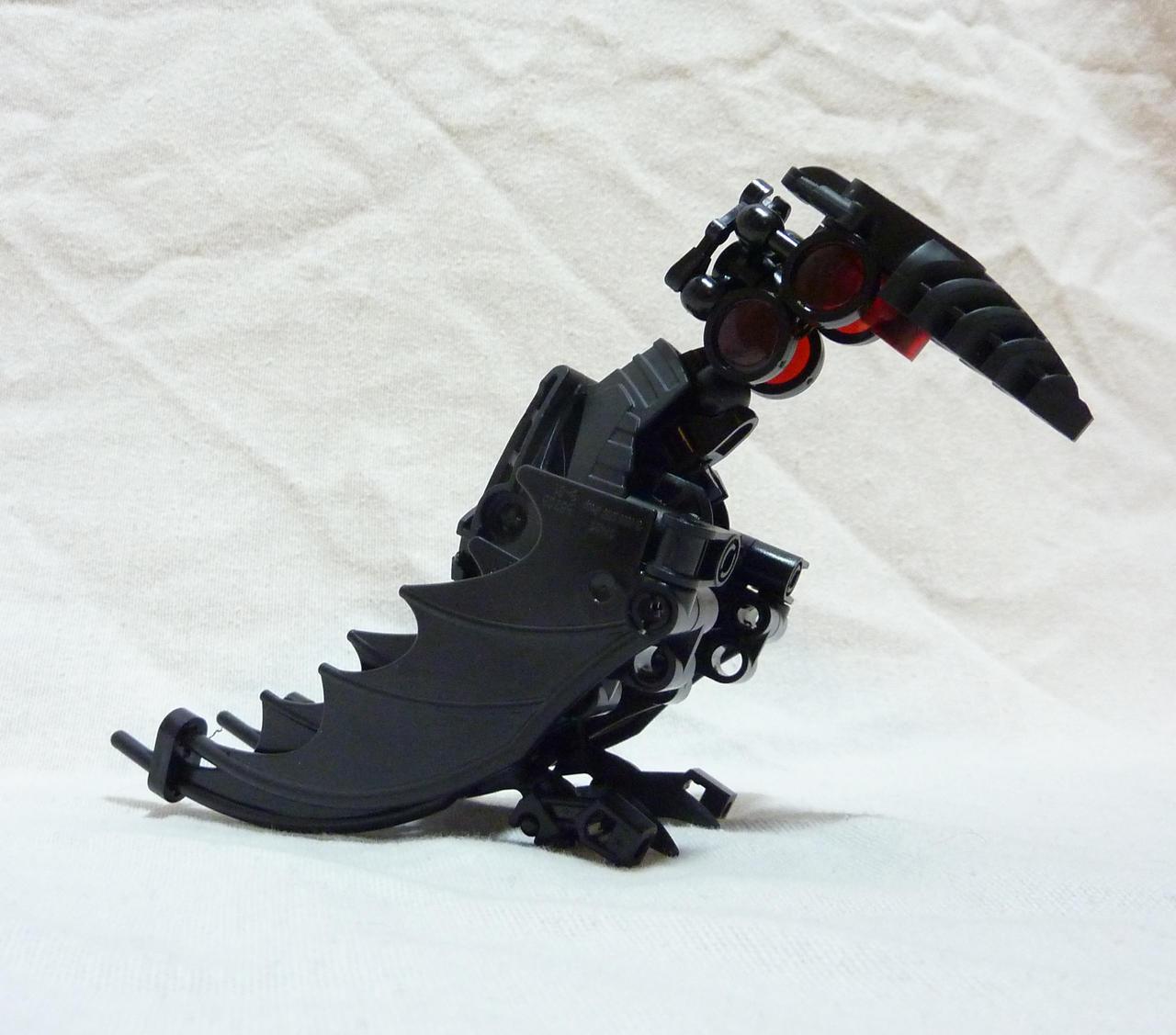 Bionicle MOC - Mad Crow by Alex-Darkrai