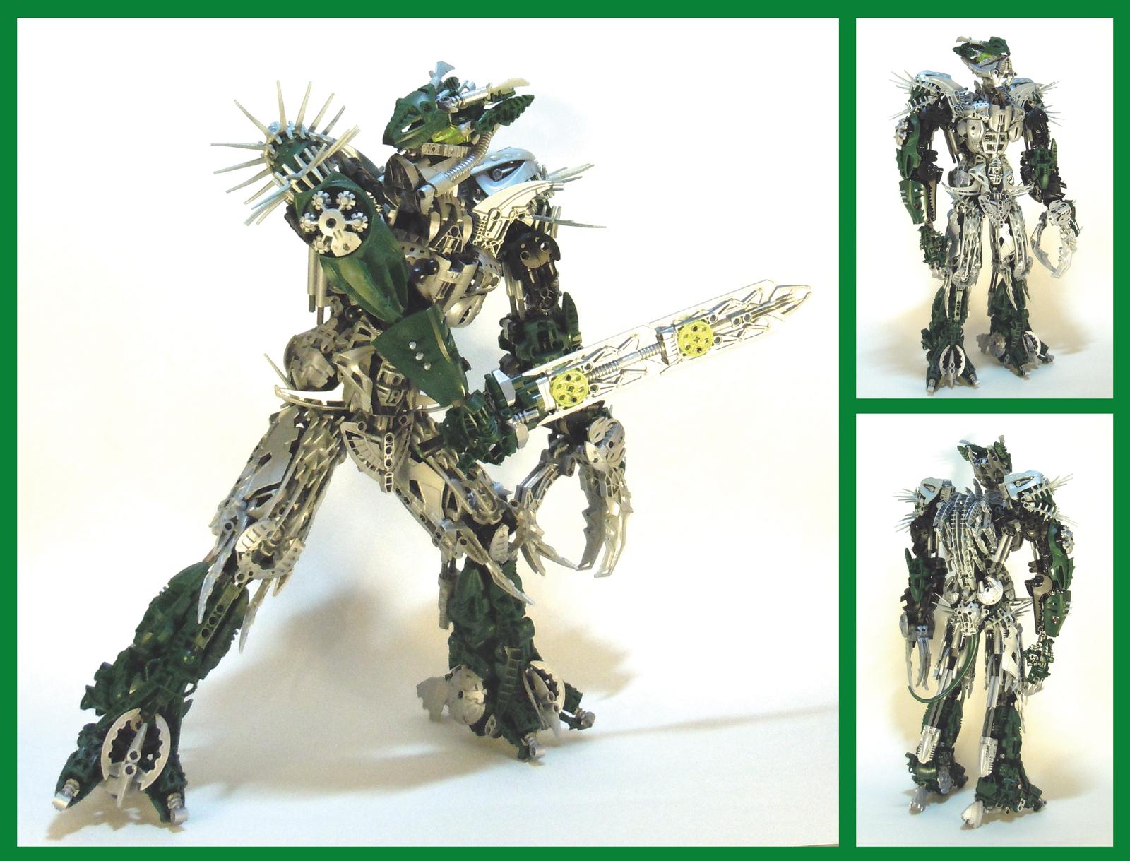 Bionicle MOC - Byorak 3.3 by Alex-Darkrai