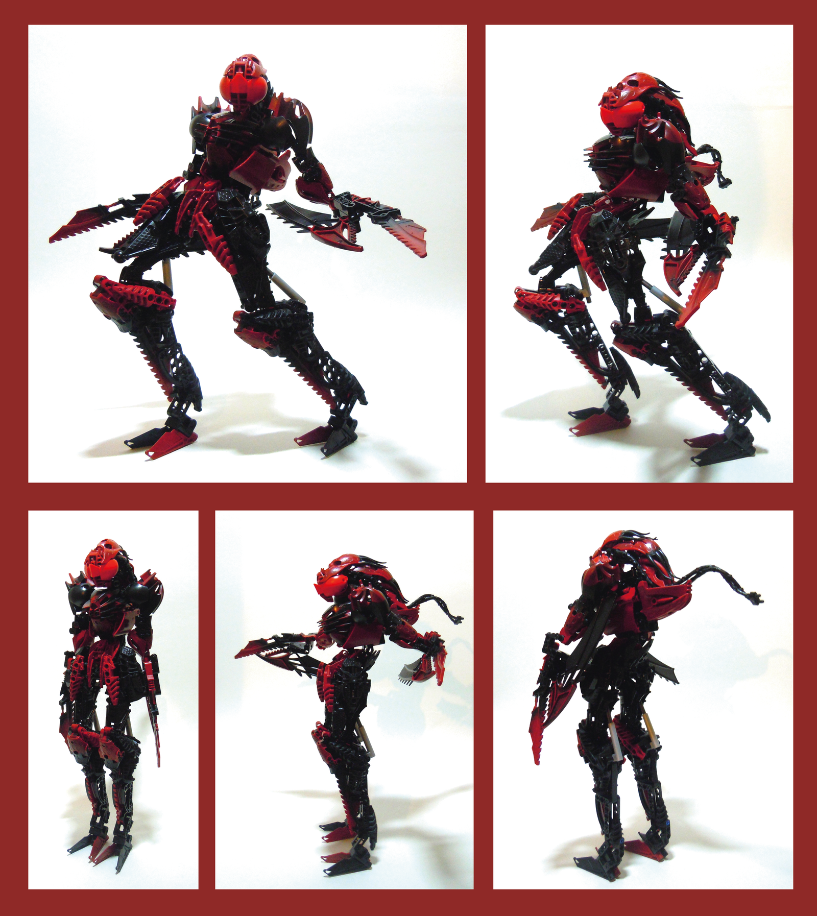 Bionicle MOC - Grind Star by Alex-Darkrai