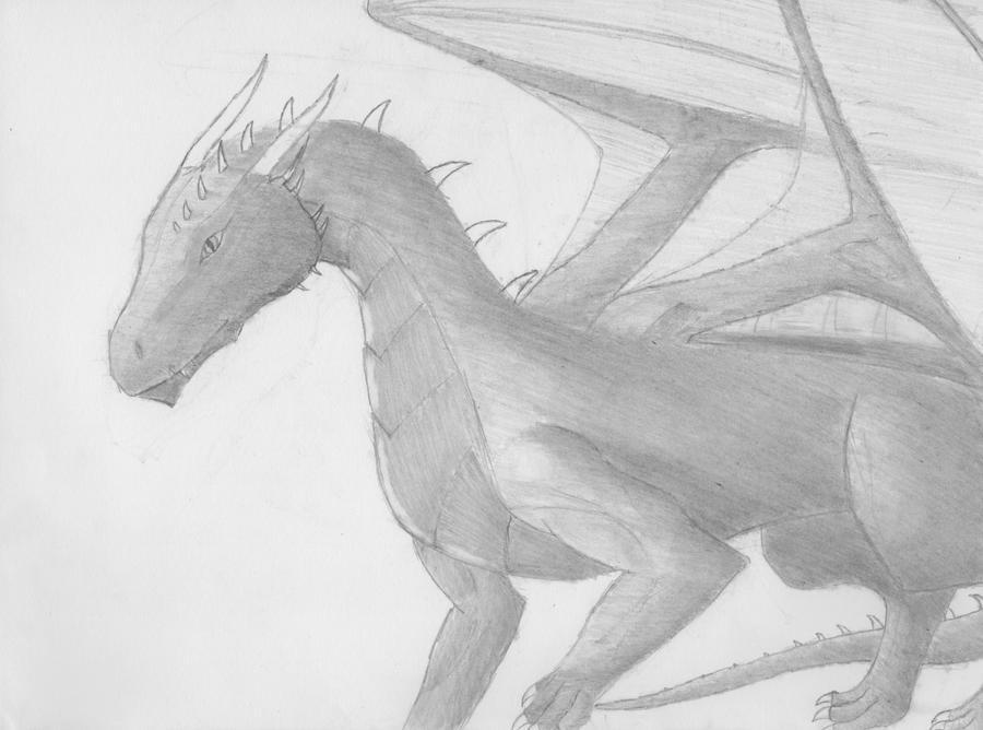 Saphira Brightscales Take 2 by Dragon-Soul117