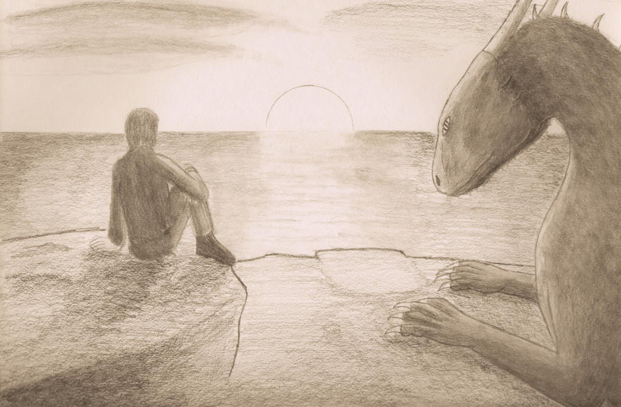 Dawn of a beautiful friendship. by Dragon-Soul117
