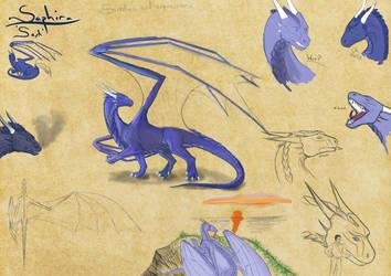 Saph sketches by Dragon-Soul117