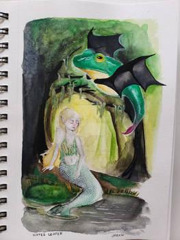 MerMay #2: Water Leaper and Swampmaid