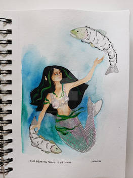 MerMay #3: Fur-Bearing Trout and He Nwas