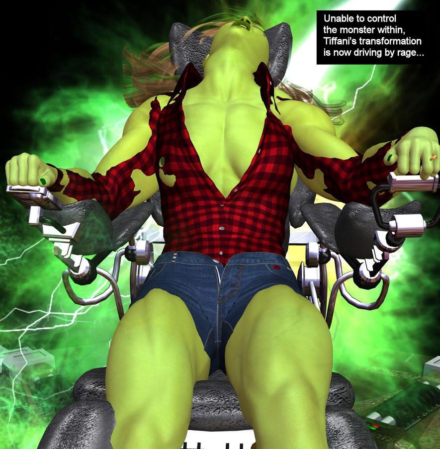 Tiffani becomes She-Hulk 19j by mercblue22