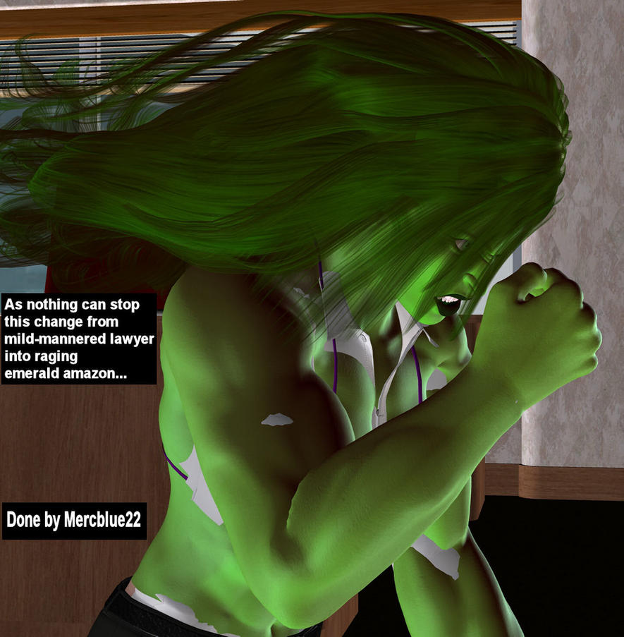 She Hulk Transformation A she hulk transformation