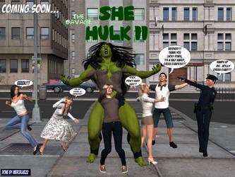 Coming Soon...Savage She-Hulk II #1! by mercblue22