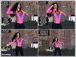 SuperWoman in 'A Demon on the Loose TF' Pg 3!