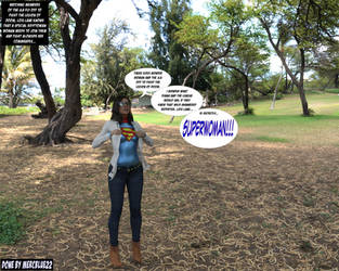 Lois Lane becomes SuperWoman in Park -IRAY- 1c by mercblue22