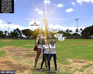 Princess Adora becomes She-Ra in Park TF by mercblue22