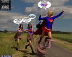 Linda Danvers becomes Supergirl at Kent Farm TF