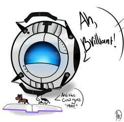 Wheats Loves His Book by ChelliosMacchiatos