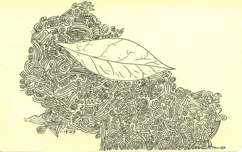 Leaf by wiyaneth