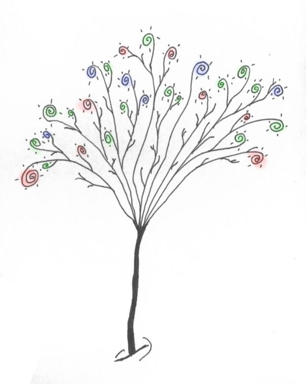 Spring Tree by wiyaneth