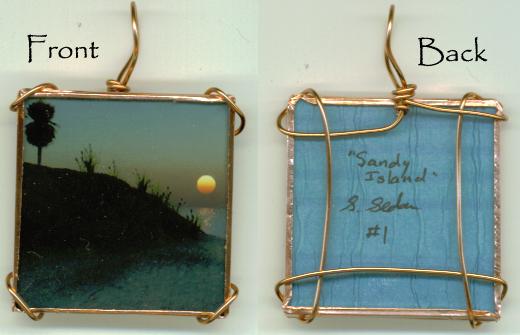 Sandy Island Pendant 1 by wiyaneth