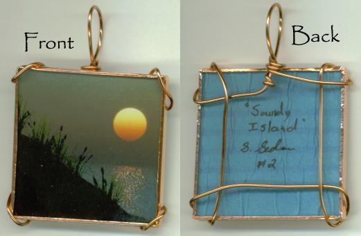 Sandy Island Pendant 2 by wiyaneth