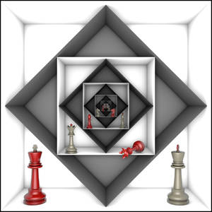 Power and freedom (chess metaphor) 5000x5000