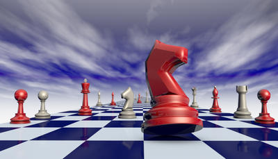 Complacency and arrogance. Chess composition. 3D