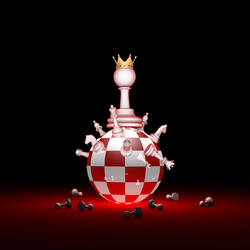 Big changes. Elite Society (chess metaphor). 3D