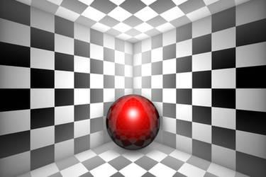 Hopelessness (chess metaphor). 3D illustration