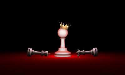 Paradox. Strength and weakness (chess metaphor).