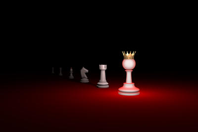 Vertical of authority. Career growth (chess metaph
