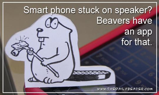Daily Beaver - Speakerphone app by RedWood-Beavers