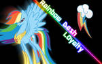 Rainbow Dash Wallpaper (done the right way)