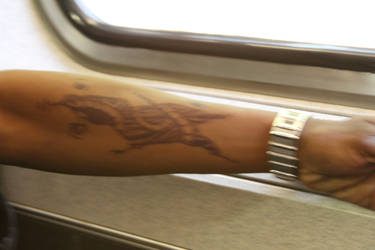 Another Sketch on my arm