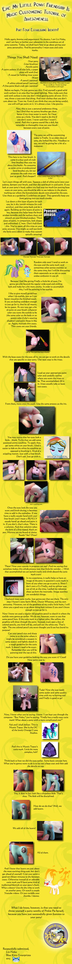 Epic MLP:FIM Customizing Tutorial Part 4 by liz-neko