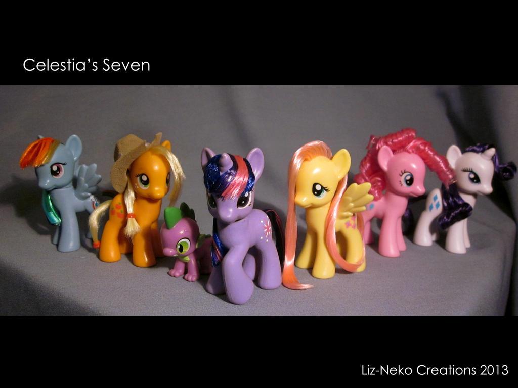 Celestia's Seven by liz-neko