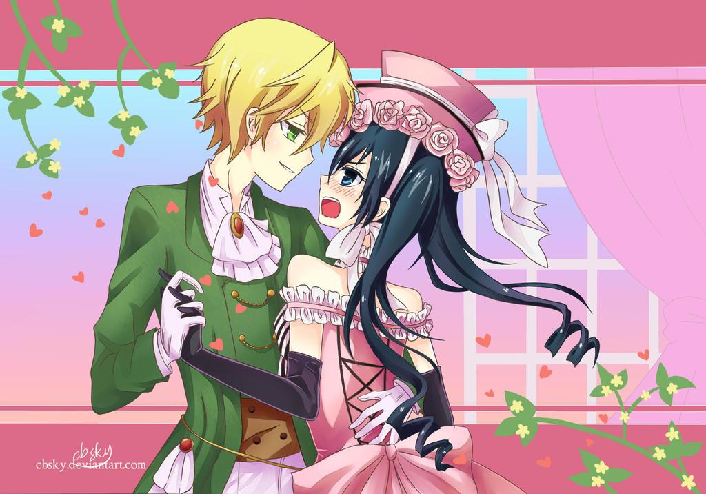 Shall we dance my lady? by cbsky