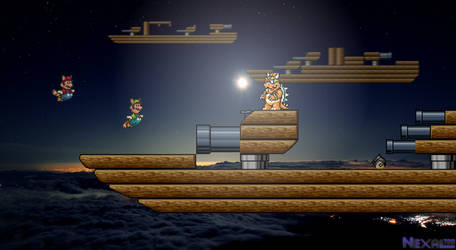 Airship Attack- Super Mario Bros 3 (AllStars) by Nexal720