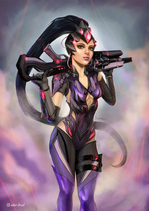Widowmaker - Overwatch by jil-upSs
